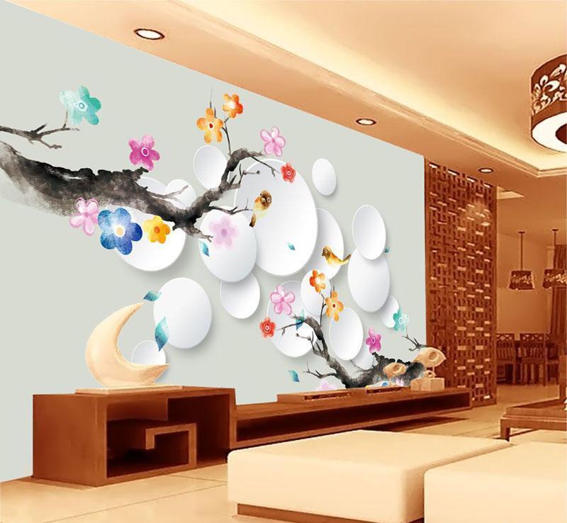 客厅墙体手绘