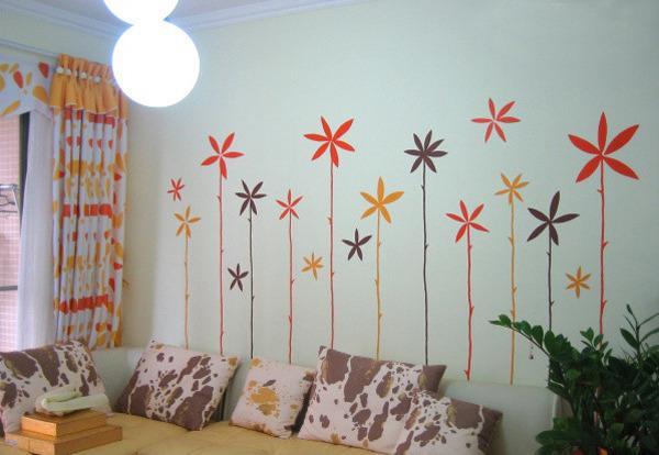 儿童房墙体手绘