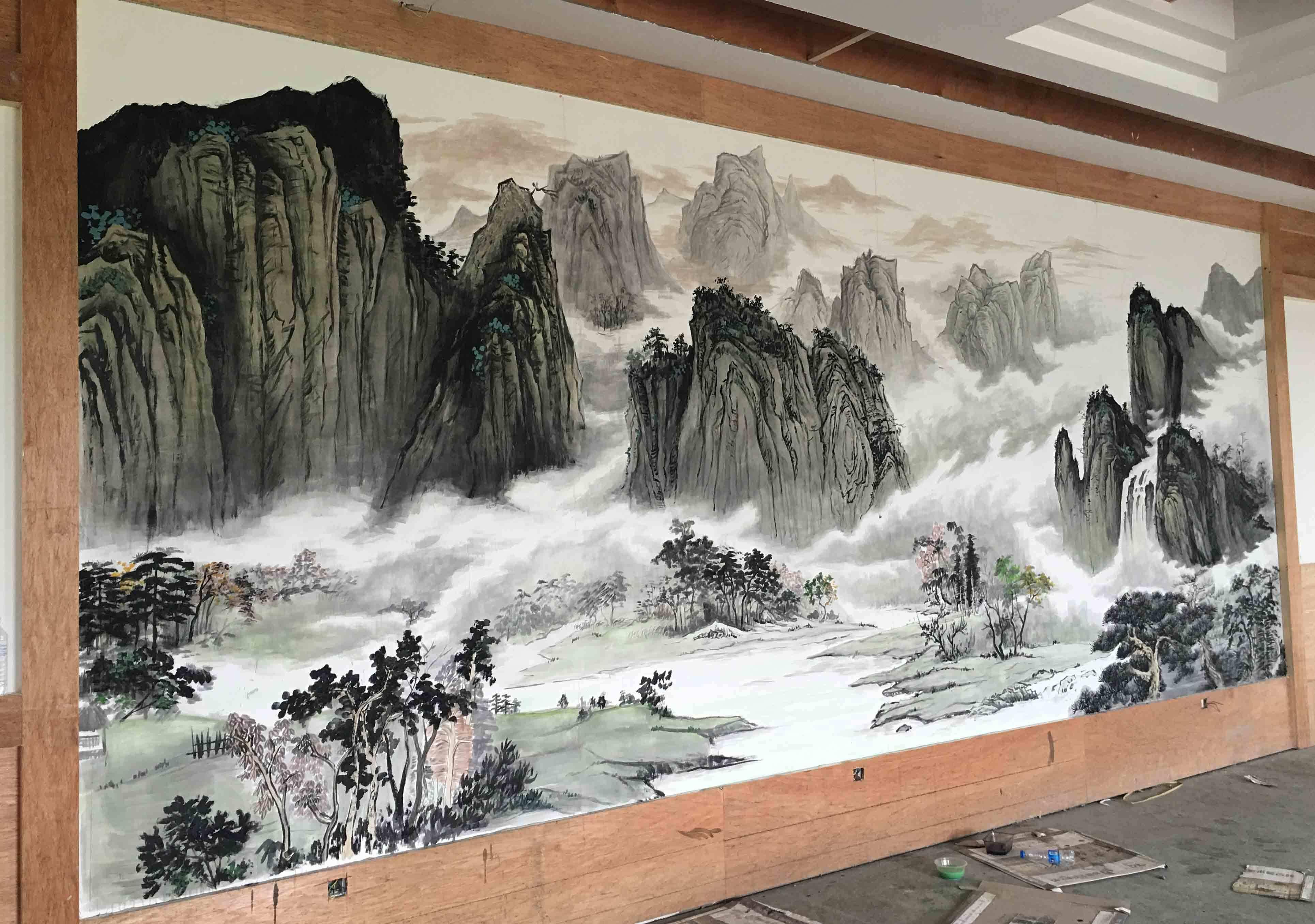 墙体彩绘机多少钱一台