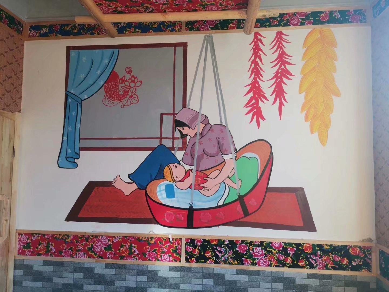 适合画在墙上的简单画