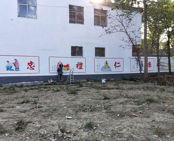 墙绘已经成为一种必不可少的用于公益宣传的形式