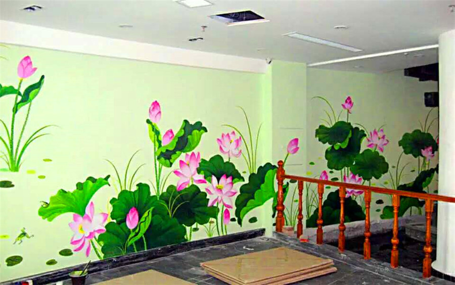 墙绘有哪些优点呢?适合家庭装修吗?