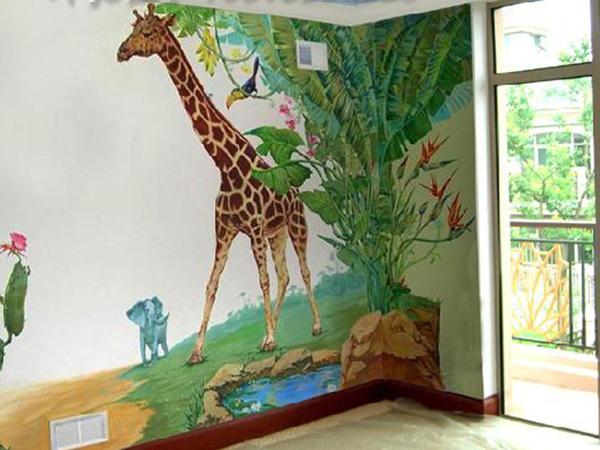 如何联系这些墙体彩绘公司为我们绘制墙体画呢?