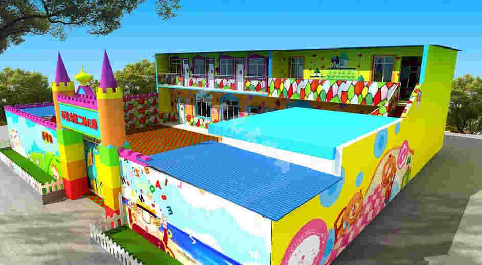 幼儿园彩绘室外设计应该讲究什么要点
