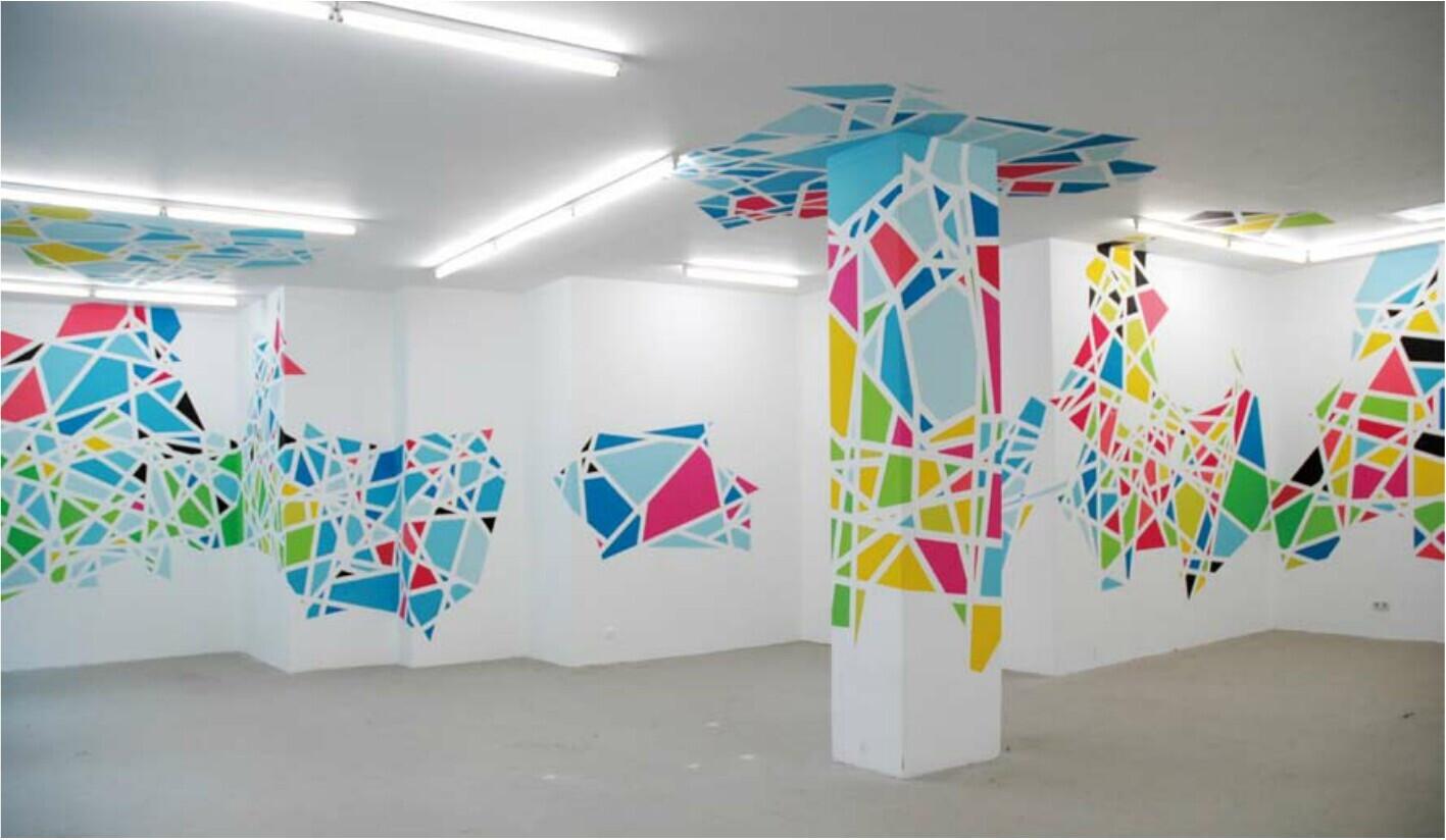 介绍一下在手绘墙的绘制上经常使用的一些颜料