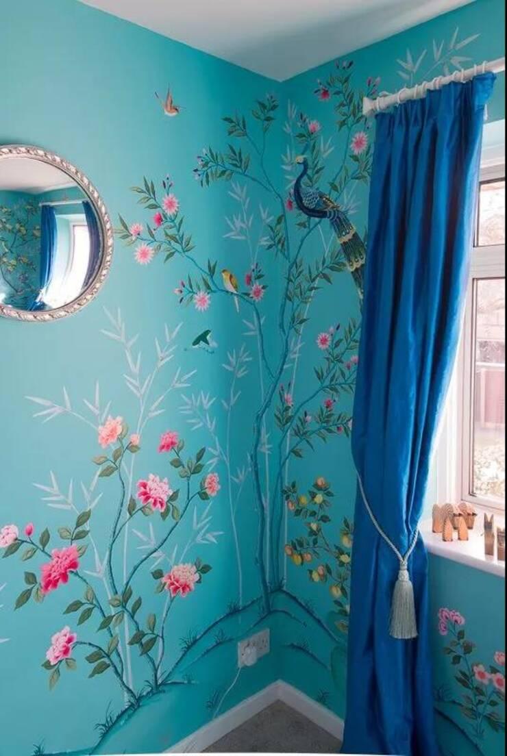 墙绘在绘画形式上表现出了更加独特的魅力