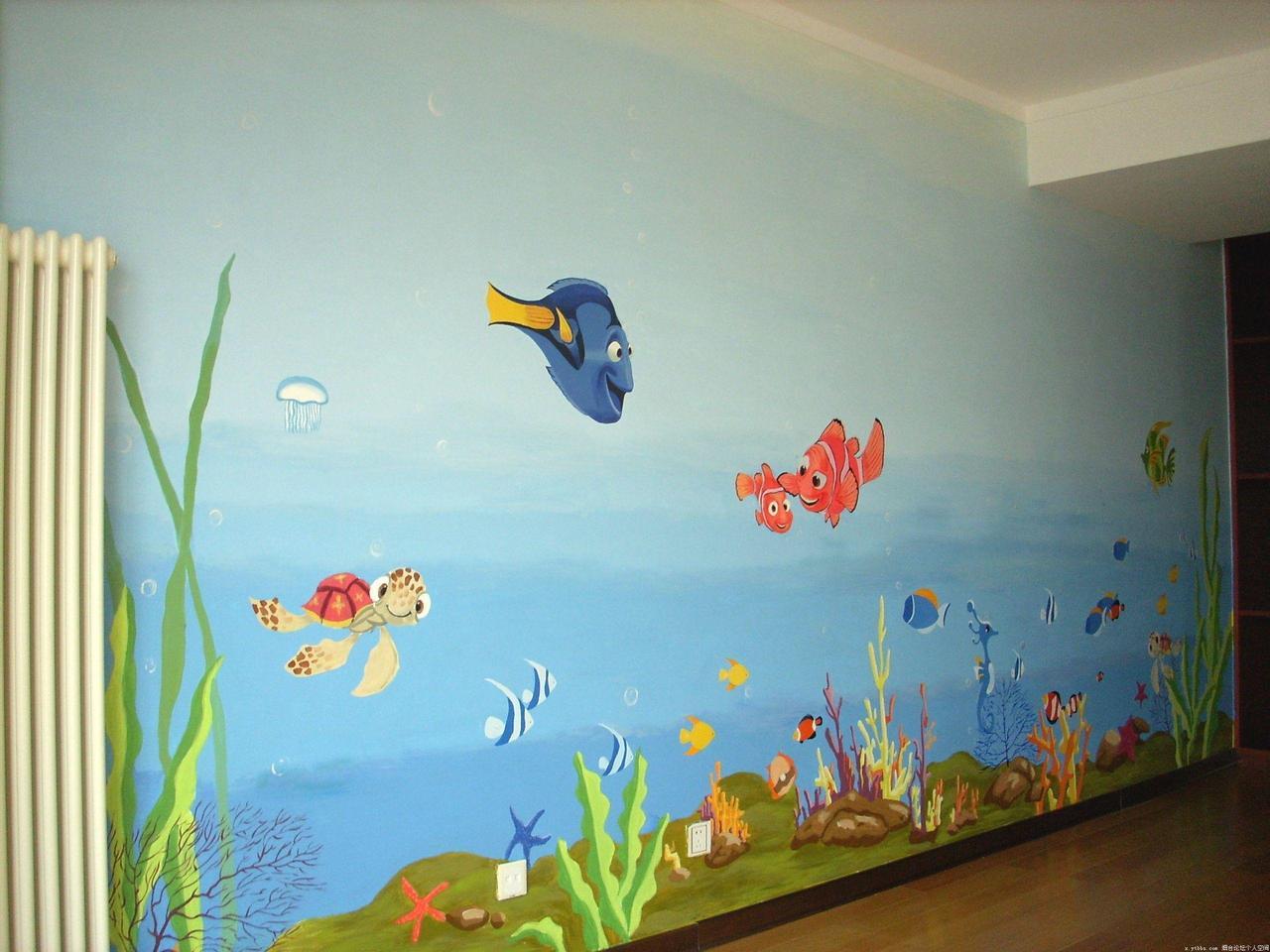什么样的幼儿园壁画才是适合孩子成长的呢?